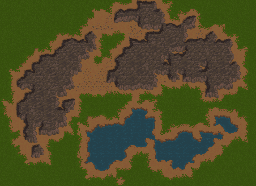 Work-in-Progress Forest Rocks
